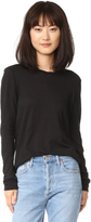 James Perse Long Sleeve Little Boy Tee