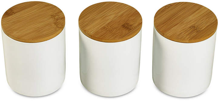 Tabletops Unlimited Set Of 3 Canisters