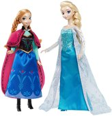 Frozen Disney Signature Collection Frozen Anna and Elsa Doll, 2-Pack