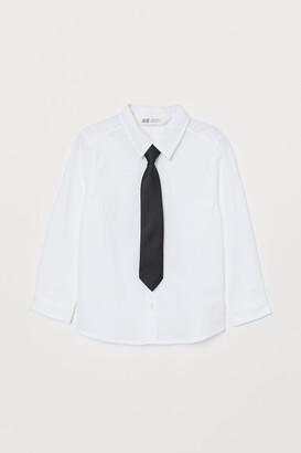 H&M Shirt with Tie/Bow Tie