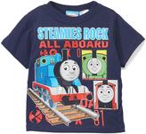 Children's Apparel Network Thomas & Friends Navy 'Steamies Rock' Tee - Toddler