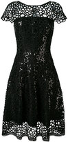 Talbot Runhof Noix dress - women - Polyester/Acetate/Cupro/Triacetate - 36
