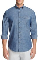 Vineyard Vines Parkwood Chambray Crosby Slim Fit Button-Down Shirt