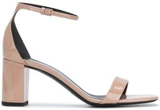 Saint Laurent Square Toe Sandals