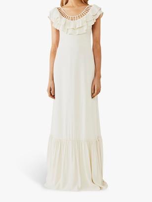 Ghost Rosa Frill Wedding Dress, Cloud Dancer