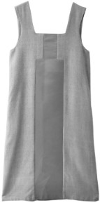 AV London - Sleeveless Midi Dress in Raw Silk - UK8 - Grey/Silver