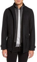 Ted Baker Men's Wool Blend Jacket With Zip Out Bib