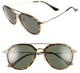 Ray-Ban Women's 53Mm Aviator Sunglasses - Light Havana