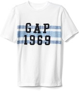 Gap Logo chest stripe tee