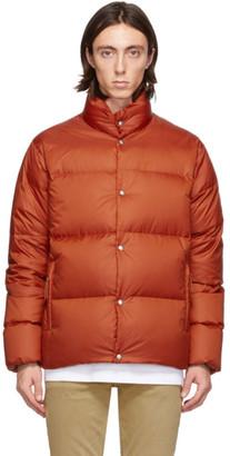 Holubar Orange Down Mustang BU15 Jacket