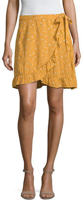 Arizona Short Wrap Skirt-Juniors