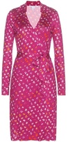 Diane von Furstenberg New Jeanne Two Printed Silk Wrap Dress