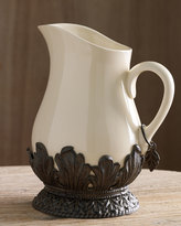 GG Collection G G Collection Ceramic Pitcher