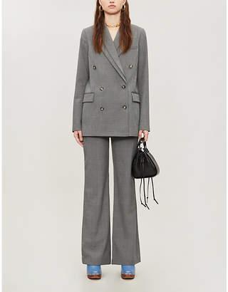 Designers Remix Radley double-collar woven blazer