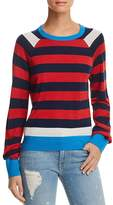 Equipment Axel Striped Wool & Silk Sweater