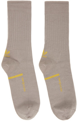 Oamc Grey adidas Originals Edition Logo Socks