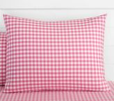Pottery Barn Kids Organic Check Duvet Cover