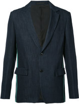 TOMORROWLAND notched lapel blazer - men - Cotton/Linen/Flax/Paper - 46
