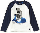 Joules Little Boys 3-6 Finlay Bear Tee