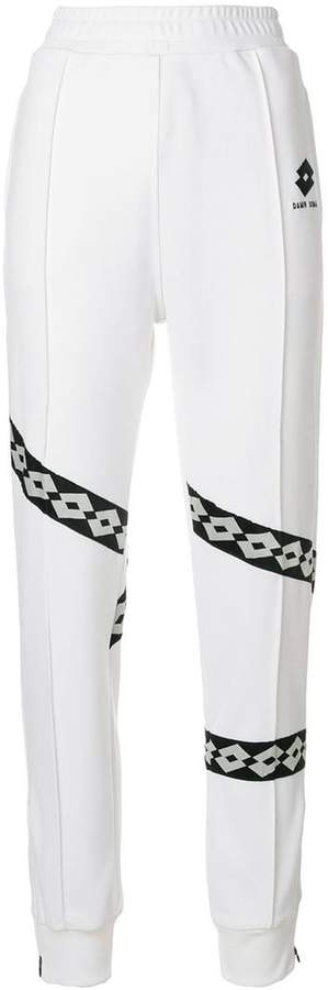 Damir Doma border print trousers