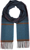 Colombo MEN'S PLAID CASHMERE SCARF