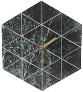 Karlsson Marble Tiled Geometric Wall Clock