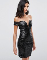 Rare Snakeskin Bodycon Dress