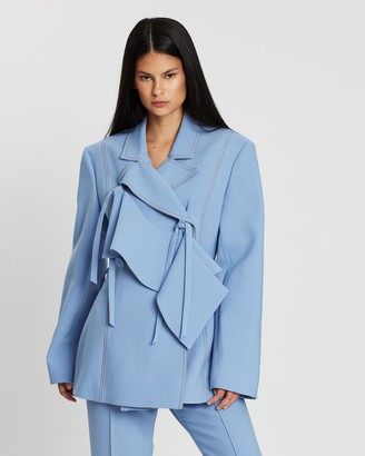 Ellery Domination Jacket with Frill
