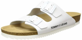 Tommy Jeans Tommy_Jeans Women's Color Block Flat Sandal Closed Toe