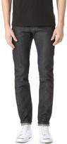 Naked & Famous Denim Super Skinny Guy Green Tea Dyed Selvedge Jeans