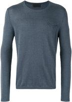 Iris von Arnim plain sweatshirt - men - Linen/Flax/Cashmere - S