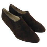 Hermes Brown Ankle boots