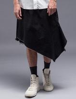 Facetasm Asymmetrical Kilt Shorts