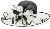Nordstrom Women's Sinamay Derby Hat - Ivory