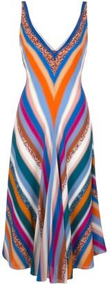 Altuzarra Cardenas deep v-neck dress