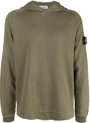 Stone Island Long-Sleeve Hooded Sweater