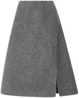 Rochas Chevron Wool Skirt