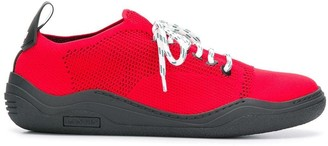 Lanvin functional lace fastened sneakers