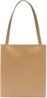 The Row Flat' leather tote