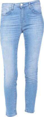 Frankie Morello Denim pants - Item 42775831XJ