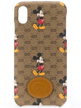 Gucci x Disney Mickey Mouse iPhone XS Max case