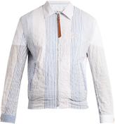 Loewe Striped cotton jacket