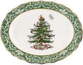 Spode Christmas Tree Embossed Large Platter