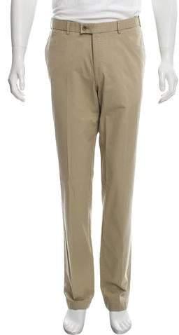 Hiltl Woven Flat Front Pants