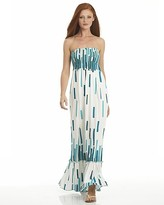 Printed Maxi Shirred Tube Dress: A Bloomingdale's Exclusive