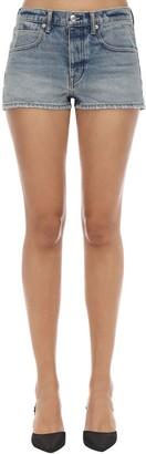 Alexander Wang Cotton Denim Shorts
