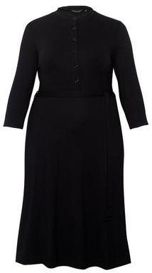 Dorothy Perkins Womens Dp Curve Black Collar Shirt Dress, Black