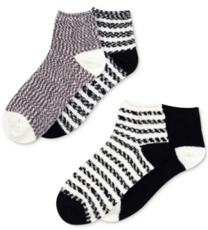 Warner's 4-Pk. Cloud 9 Seriously Soft Fluffy Mid Crew Socks