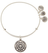 Alex and Ani US Coast Guard Pendant Expandable Wire Bangle