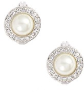 Givenchy Women's Imitation Pearl Clip-On Earrings